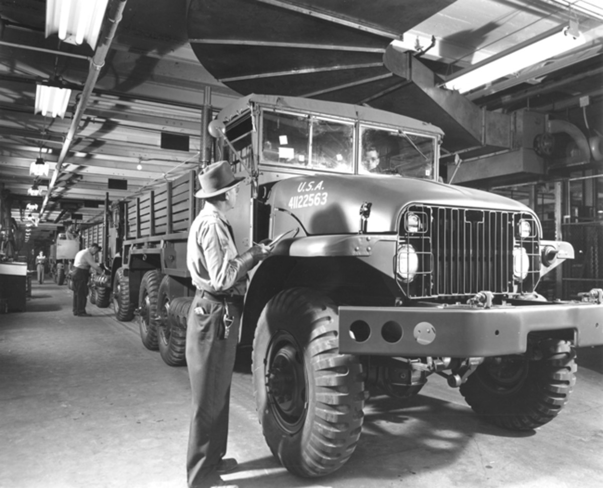 The G-749 family of vehicles—including the M211 and its 6-wheel variant, the M135—were painstakingly designed and engineered by General Motors in the hope that these trucks would be a permanent replacement for the CCKWs of WWII. General Motors pointed out that the vehicle's similarity to the CCKW would make the M211 easily maintainable and repairable for motor pool personnel who were already trained on the G-508 (CCKW) family of vehicles. Further simplifying maintenance, the M211's transmission operated on engine oil (OE) rather than automatic transmission fluid (ATF).