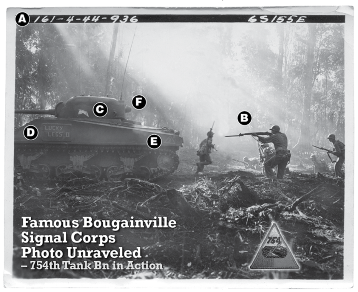 Famous Bougainville photo isn't what it seems.