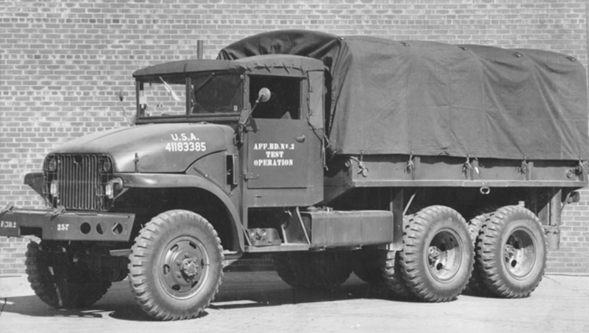 An M211 or one of its many variants would be an excellent deuce for an HMV enthusiast, as long as one is prepared to live with and care for its special needs in regard to the automatic transmission. The M211 and the G-749 family are unique, interesting, and very historical trucks. Parts availability is very good in the HMV world, and many engine and brake system components can still be found on the shelves of well-stocked truck parts suppliers. While there is admittedly more to go wrong—or at least more to service and maintain—on an M211 than on an early model M35, one will probably find that an M211 is more comfortable to drive and perhaps a bit more user-friendly.