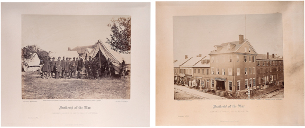 Gardner's Photographic Sketch Book of the War, Philp & Solomons, 1865-1866 - estimate $100,000/150,000