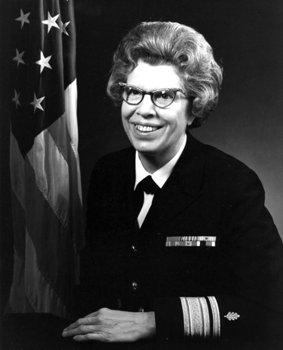 Official Photo: Rear Admiral Alene B. Duerk, USN (Released/U.S. Navy photo)