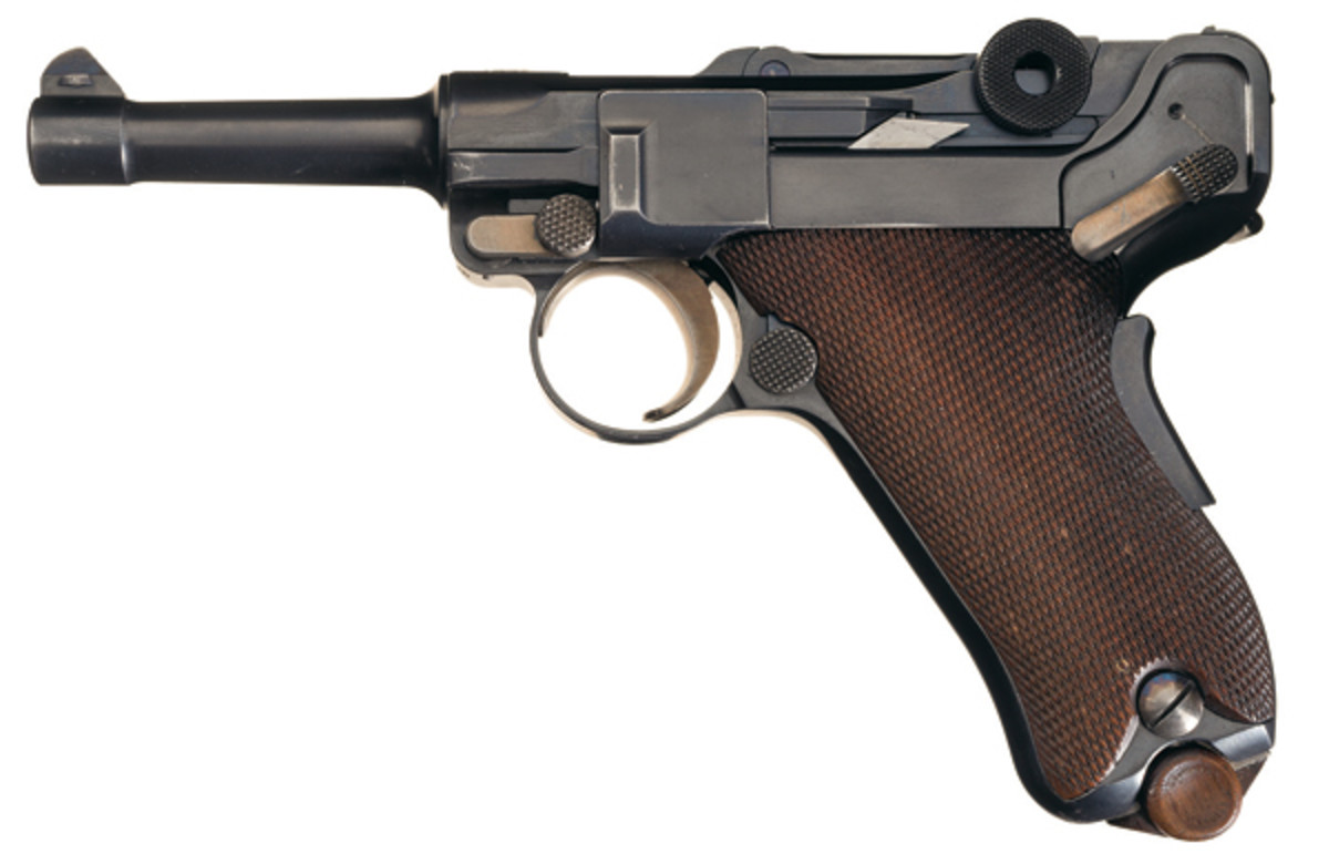 The prototype Baby Luger in lot 3427 was auctioned for $161,000.