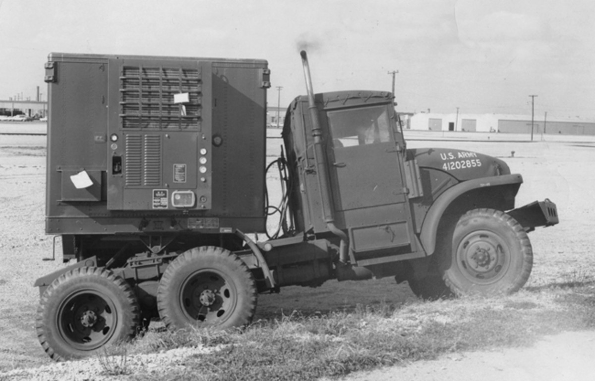 One variant was the M221, a truck tractor.
