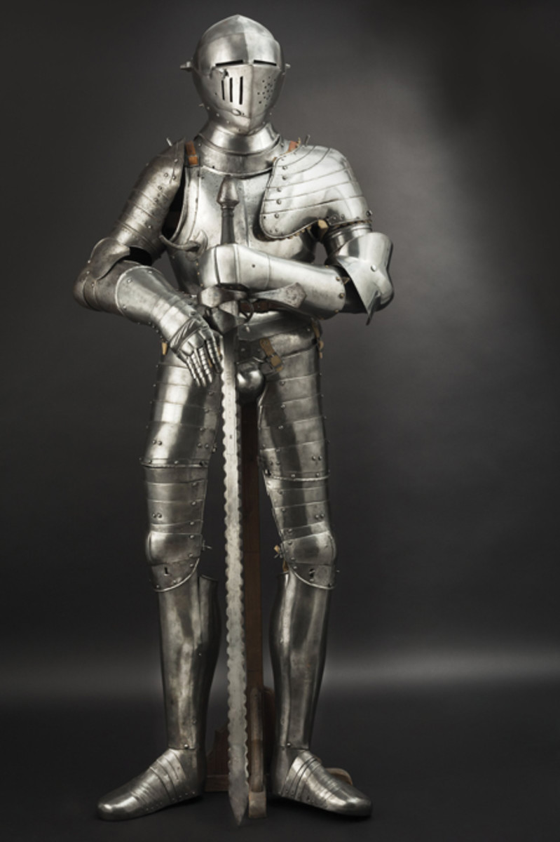 German composite full armor, Augsburg type, 2nd half of the 16th century.
