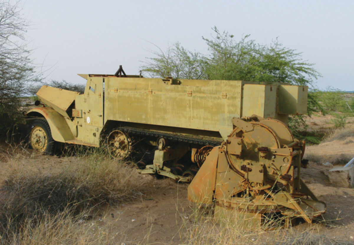The M16A2 in Africa when I found it.