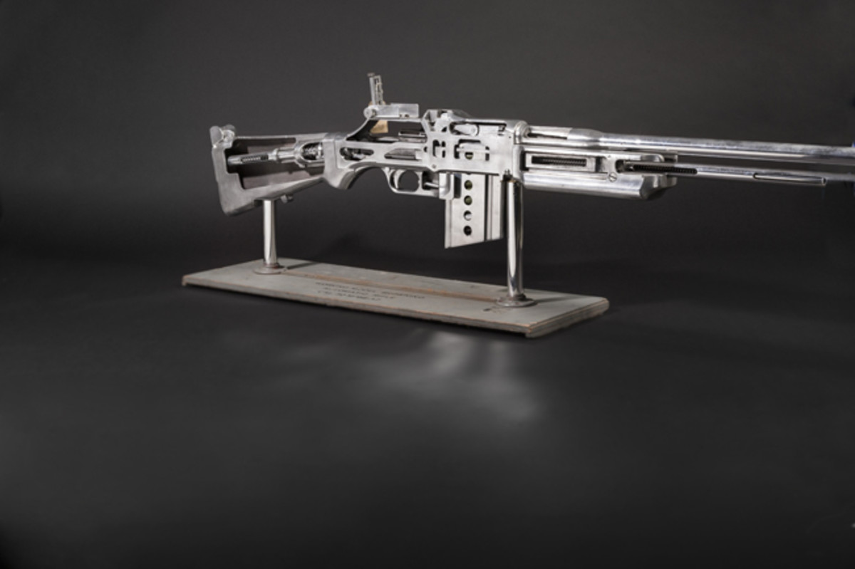Browning Automatic Rifle M 1918 A 2 demonstration model. SP: 10000 Euros