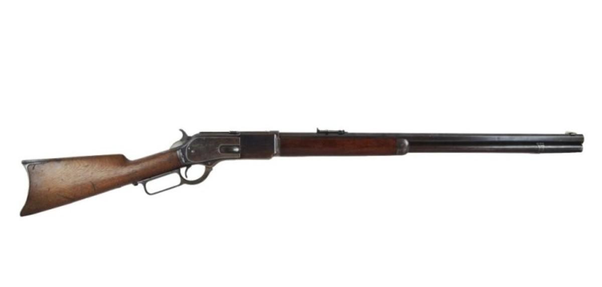Bill Dalton's 1876 Winchester 45-60 Ser # 23082 Lot 150 May 5th, 2013