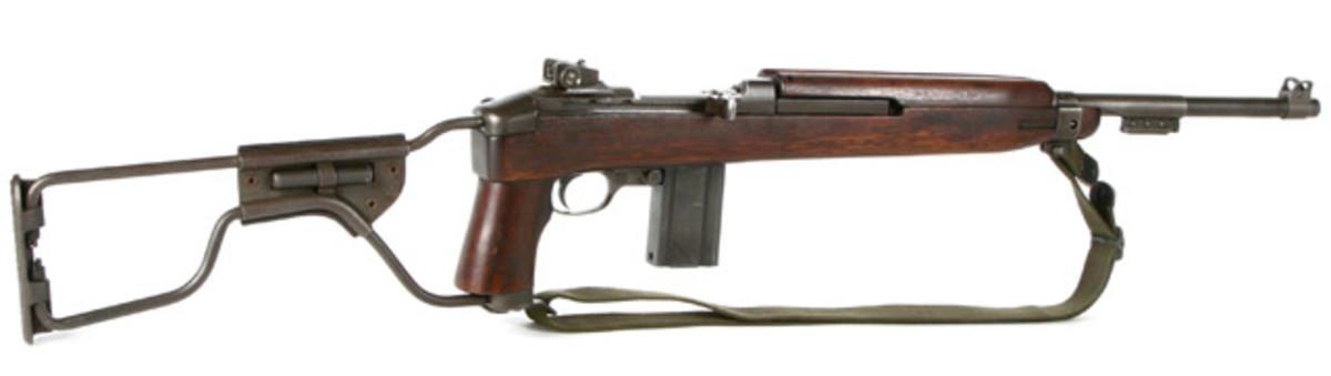 Inland M1-A1 Paratrooper In .30 Carbine