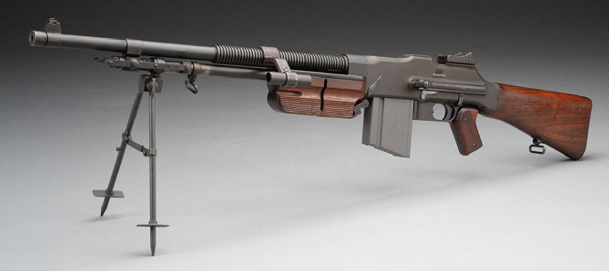 Colt R75A Browning Automatic Rifle with Detachable Barrel