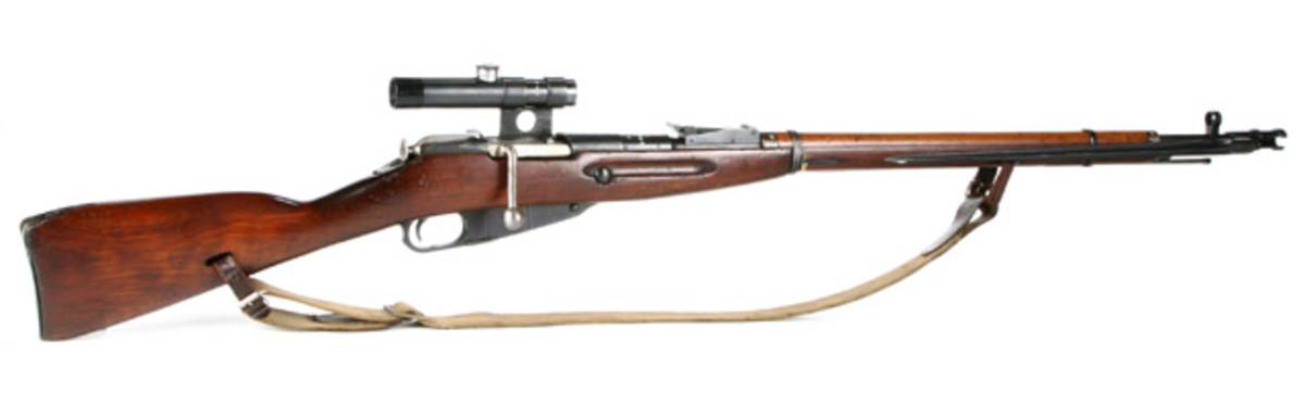 Mosin Nagant Sniper 1891/30 In 7.62 X 54R.