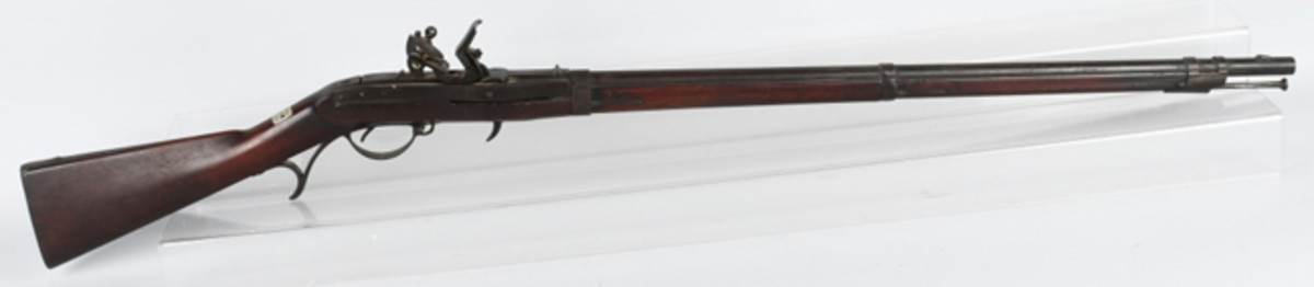 https://www.liveauctioneers.com/item/61937851_us-harper-s-ferry-j-hall-model-1819-id-dRare Model 1819 J. Hall breech-loading flintlock rifle, second production type dated 1826, made by Harper's Ferry Armory, identified to Captain E.D. French. Photo -Milestone Auctions