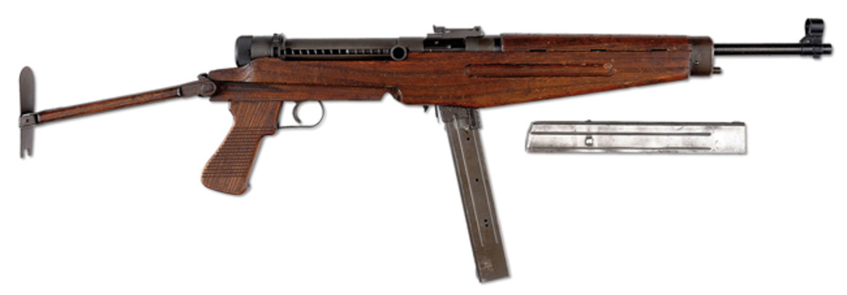 WWII Hungarian Model 43M Machine Gun