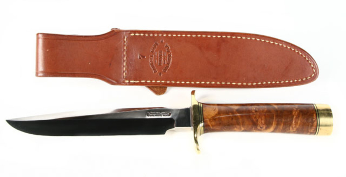 Randall Fighting Knife With Sheath.