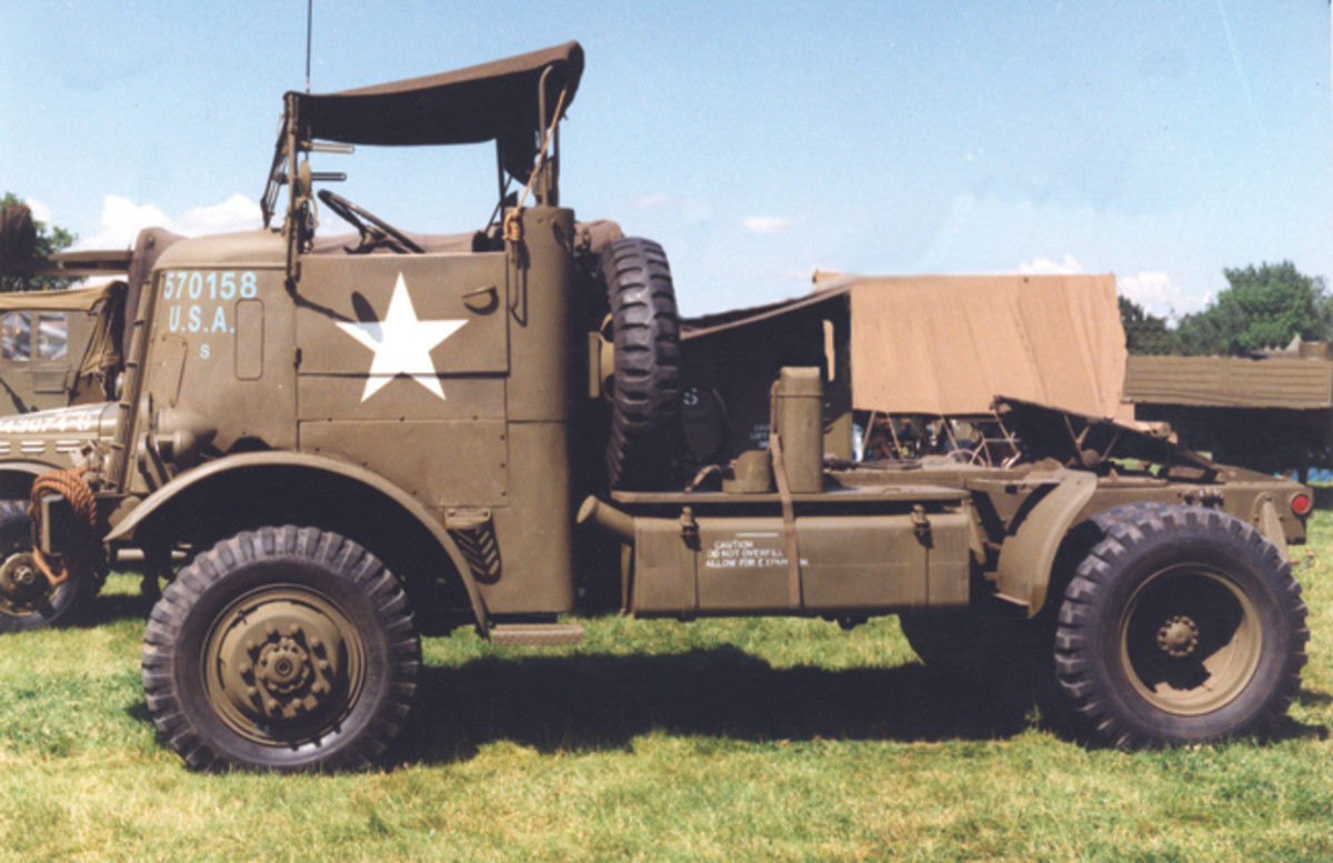 WWII Federal Tractor 94x43