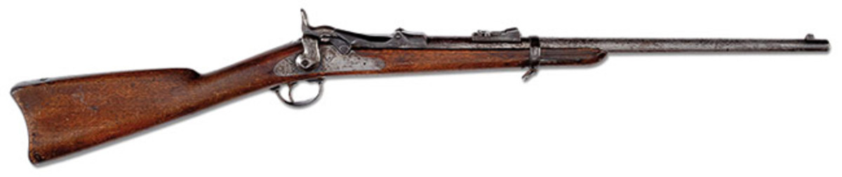 Springfield Model 1873 Saddle Ring Carbine that Belonged to Custer's Bugler, John Martin, from the Battle of the Little Bighorn (Swanson Collection)