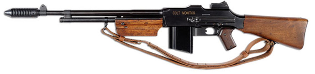 Colt Monitor Machine Gun