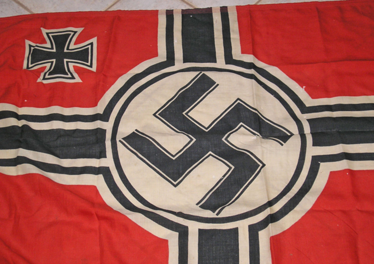 The 1937/38 pattern flag.