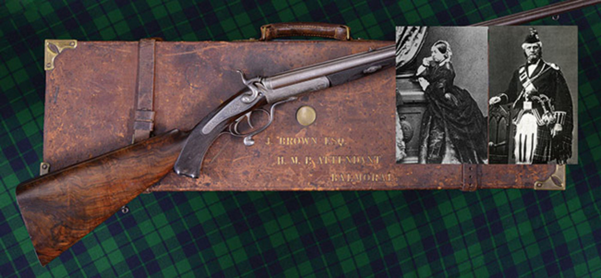 Alexander Henry Double Rifle Presented by Queen Victoria to John Brown in 1873