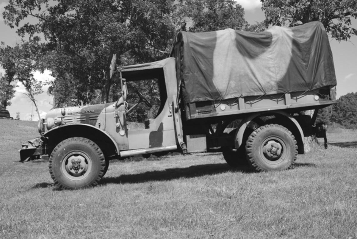 Marvin Dahlke's Danish Army Dodge W-300.