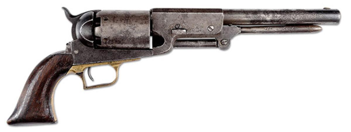 Colt Walker Percussion Revolver Company B No. 25 (Roughton Collection)