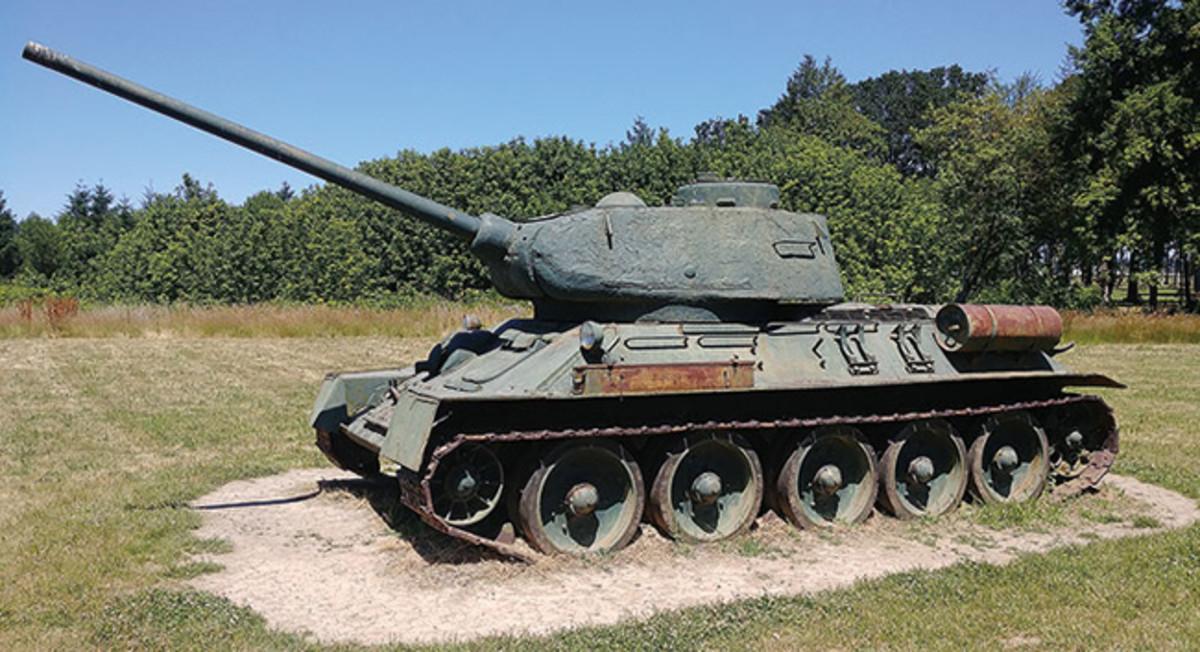 Soviet T-34/85 Tank
