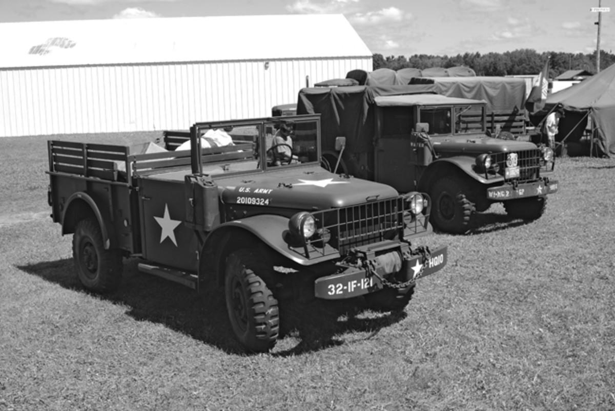 Oshkosh Military Museum's M37 and Dave Hartung's M37B1.