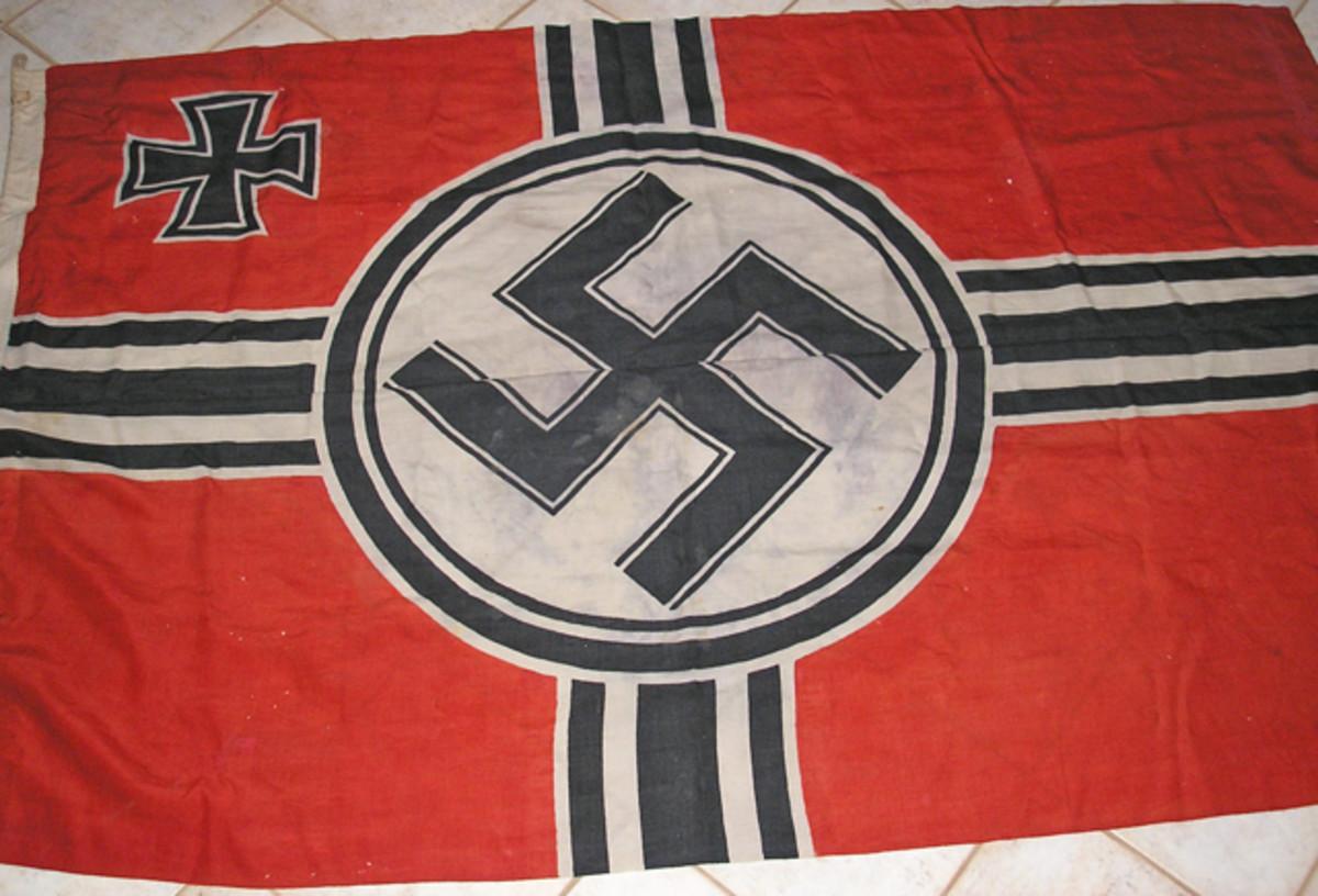 The 1935 pattern Reichs War Flag.
