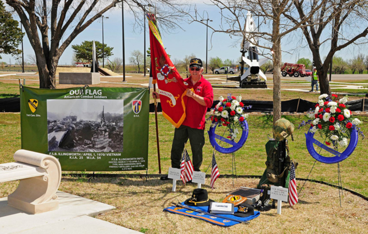 Each year on April 1, Jones and fellow veterans commemorate the memory of the 179 killed and wounded of Fire Support Base Illingworth with the laying of wreaths at Fort Sill.