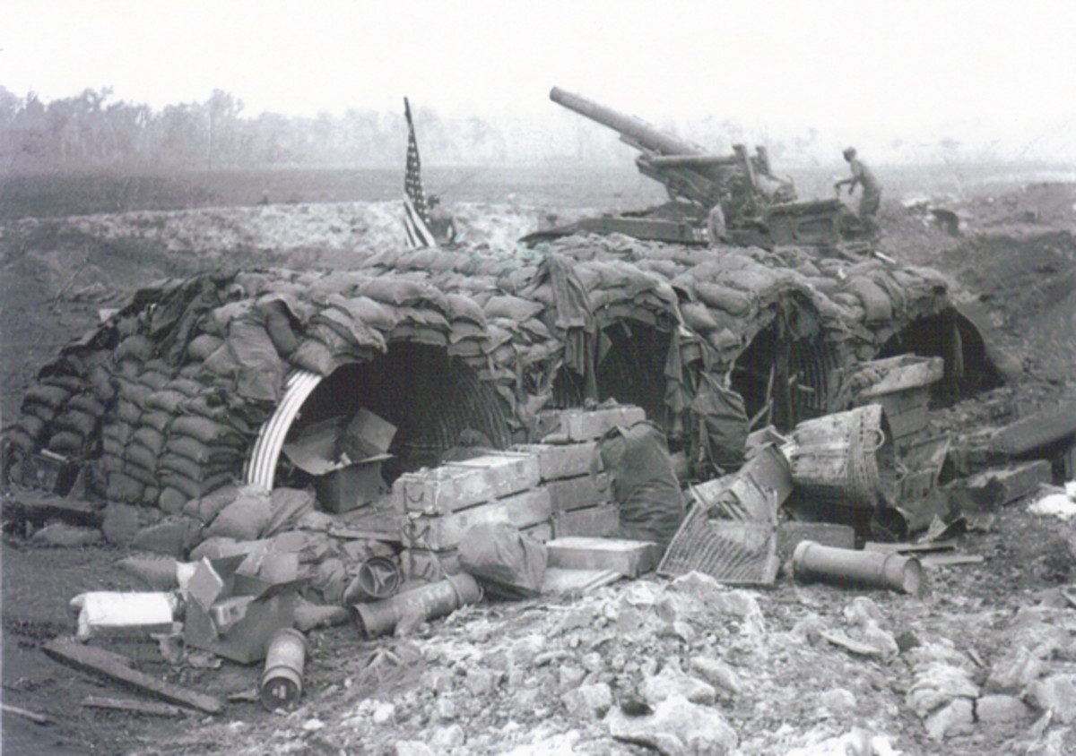 Firebase Illingworth at dawn on April 1, 1970, just after the worst battle of the worst single day of the war. U.S. forces suffered a 40 percent casualty rate while the the 272nd NVA Regiment suffered nearly 50 percent.