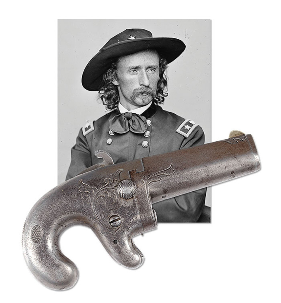 George Armstrong Custer's National Arms Company Deringer (Racker Collection)
