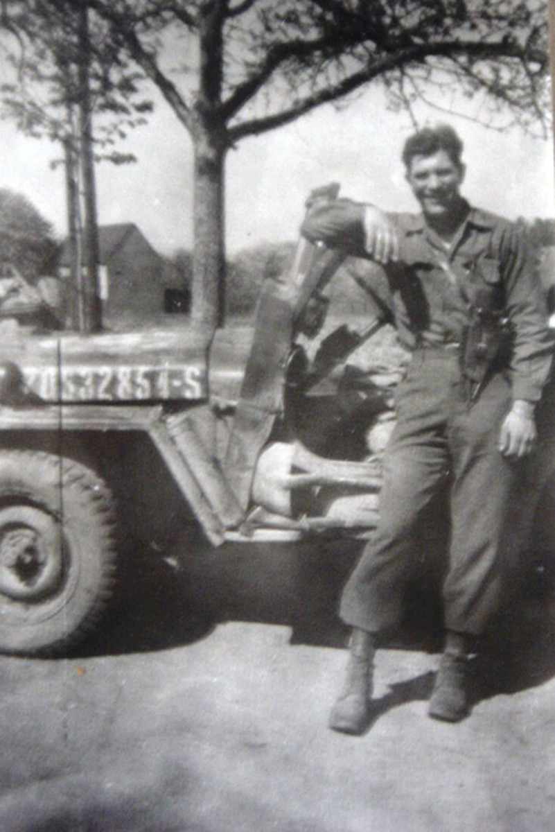 PFC James J. Brown, ca. 1945.