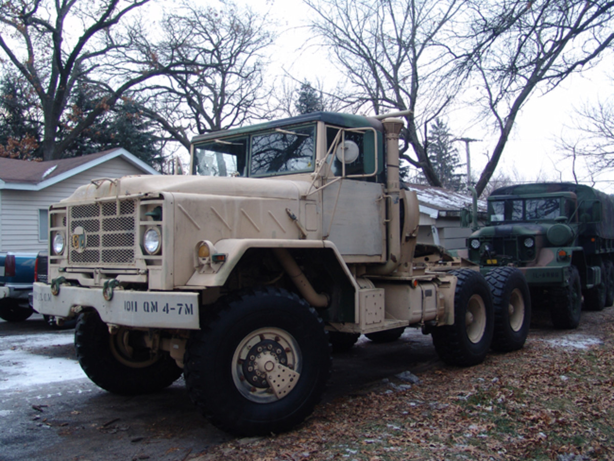 Chuck Culp started in the hobby in 1997 when he bought his first truck. Within a few years, his passions led him to buying several CUCVs and a deuce before he bought a new project – an M932A2 tractor.