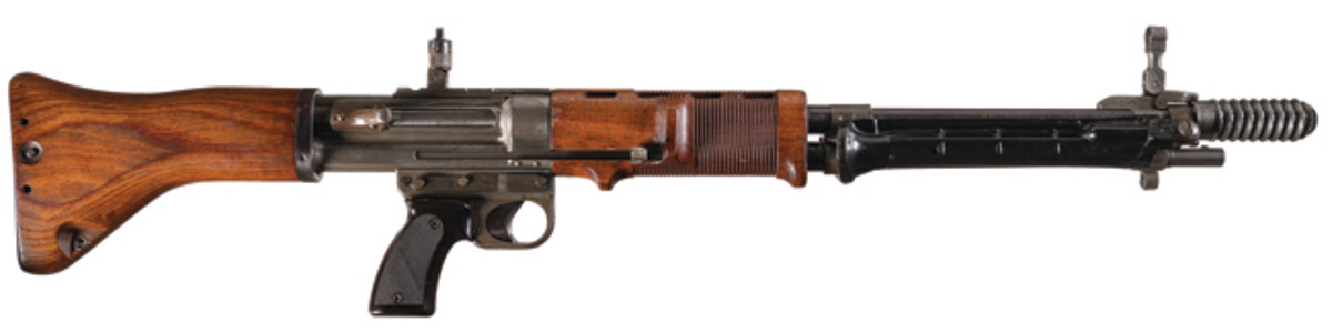 Extremely Rare World War II Fully Automatic NFA/Class III Nazi Krieghoff FG42 Paratrooper Assault Rifle