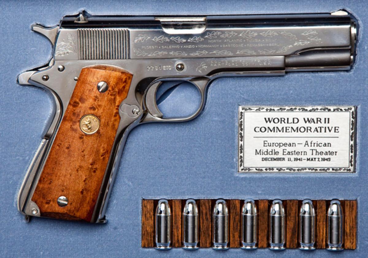 WWII Commemorative Pistol ($600-900)