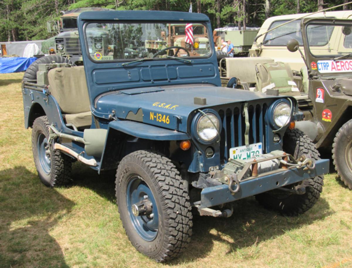 1952 M38, William Falconer