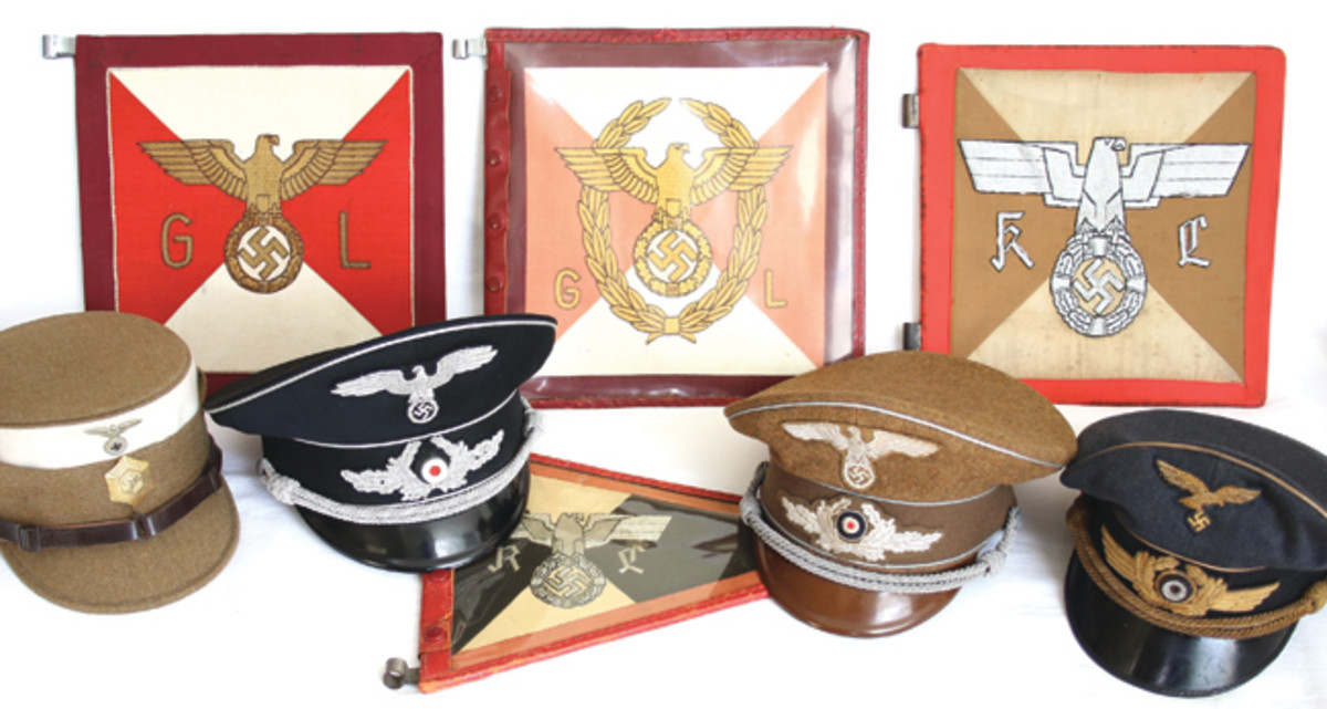 Maintaining an offering high-quality relics has been a hallmark of Grenadier Military Antiques. Here a few items offered on the current auction--to see more and to bid, log onto www.grenadierauctions.com.