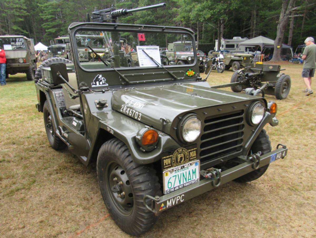 1971 M151A2, Russ Lauriat