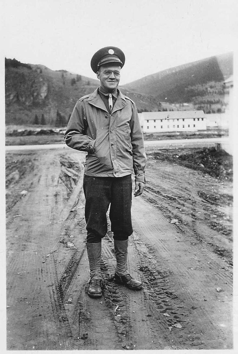 Camp Hale, Colorado, October 1942.