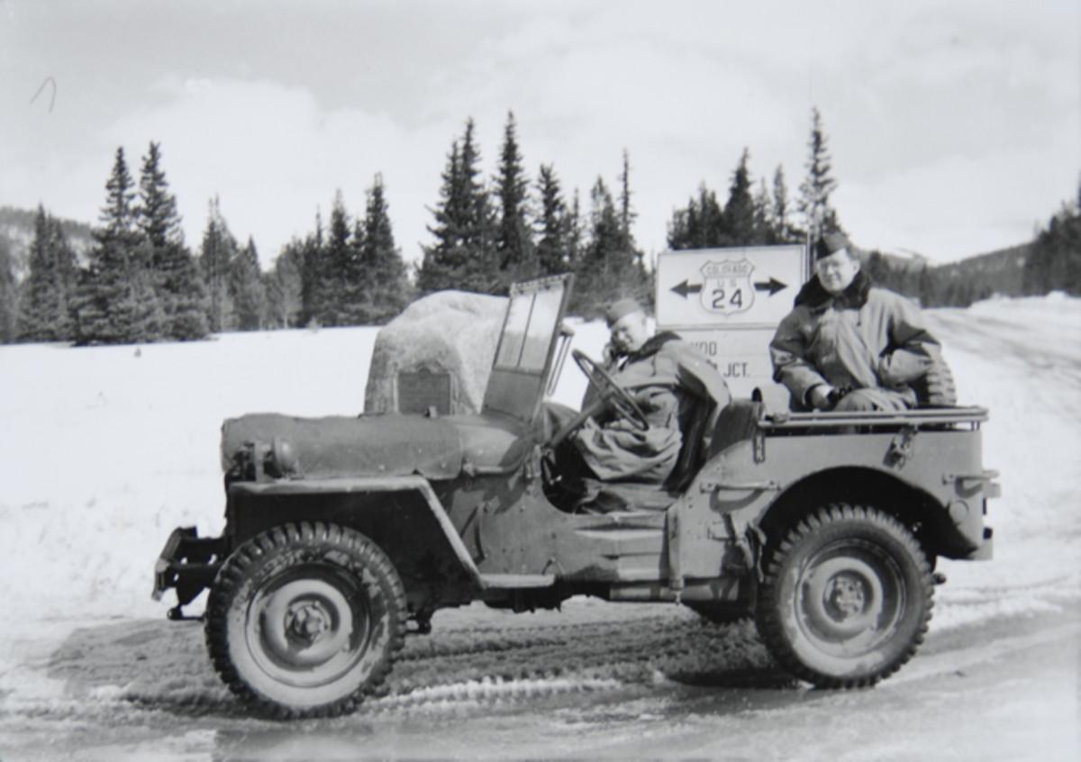 Camp Hale MPs on patrol.