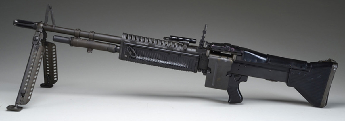 Maremount Corp M-60 Machine Gun; estimated at $22,500-32,500, sold for $40,250.