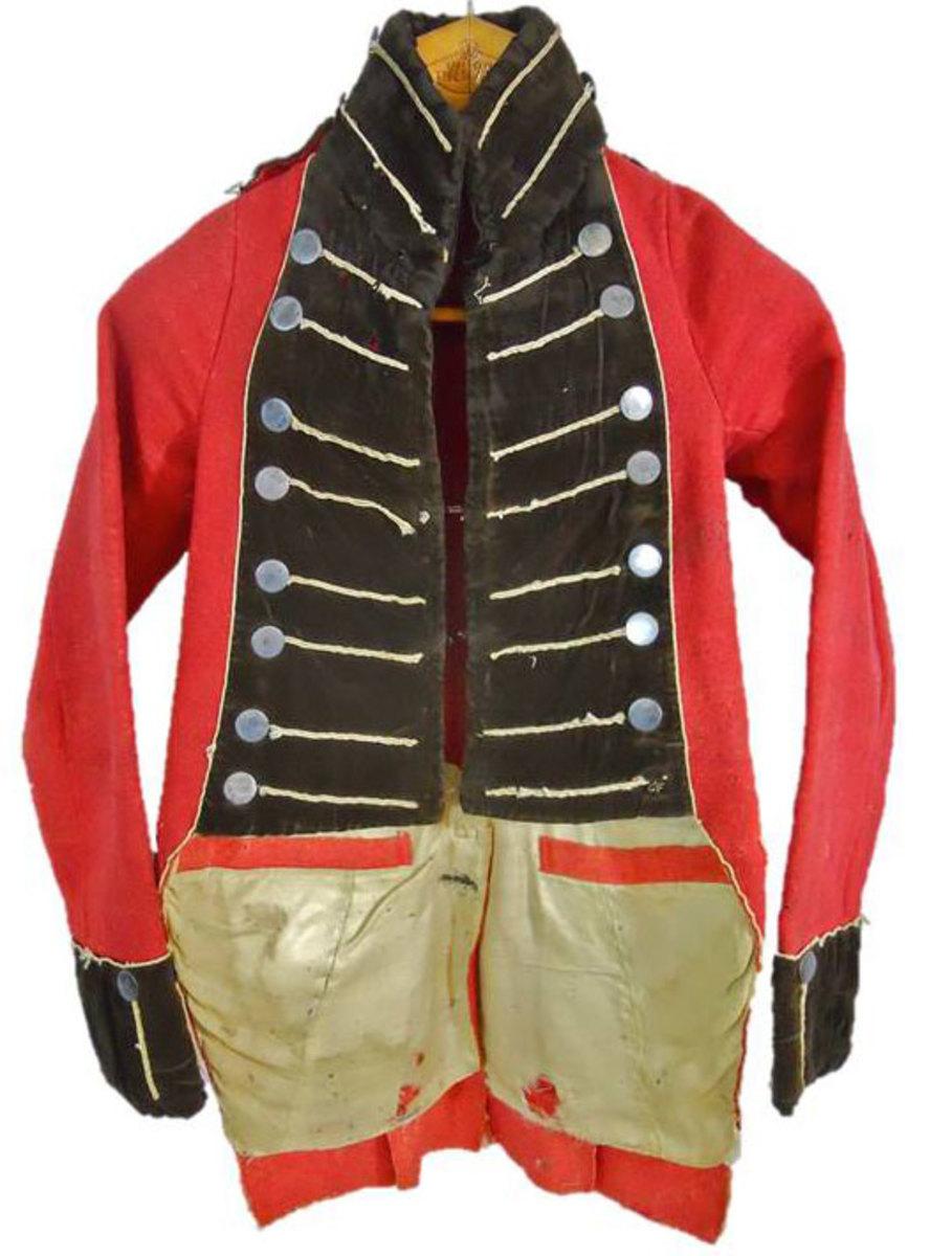 A War of 1812 Officer Tailcoat.
