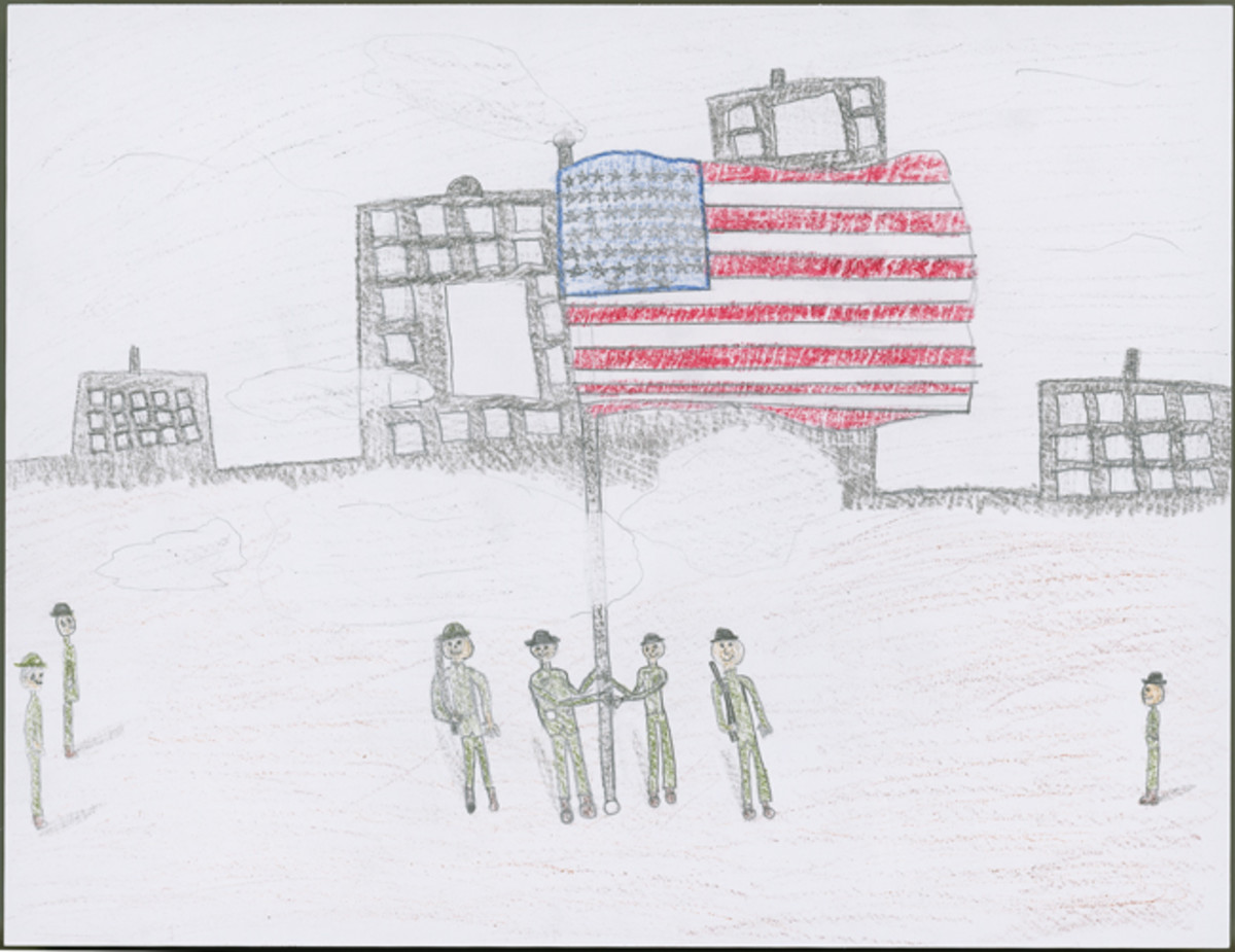 """The End of World War 1,"" by Alli Bena, Sixth Grade."