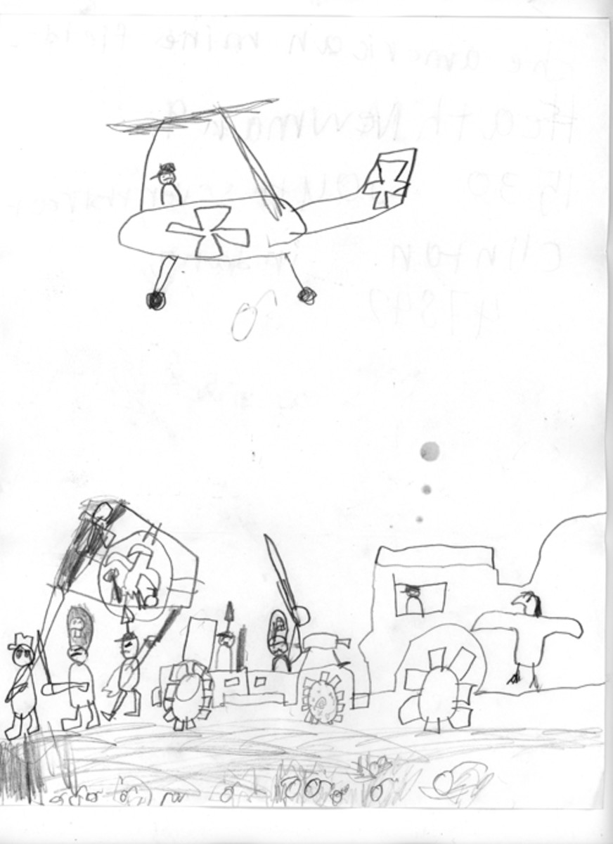 """The American Minefield,"" Heath Newman, age 9"