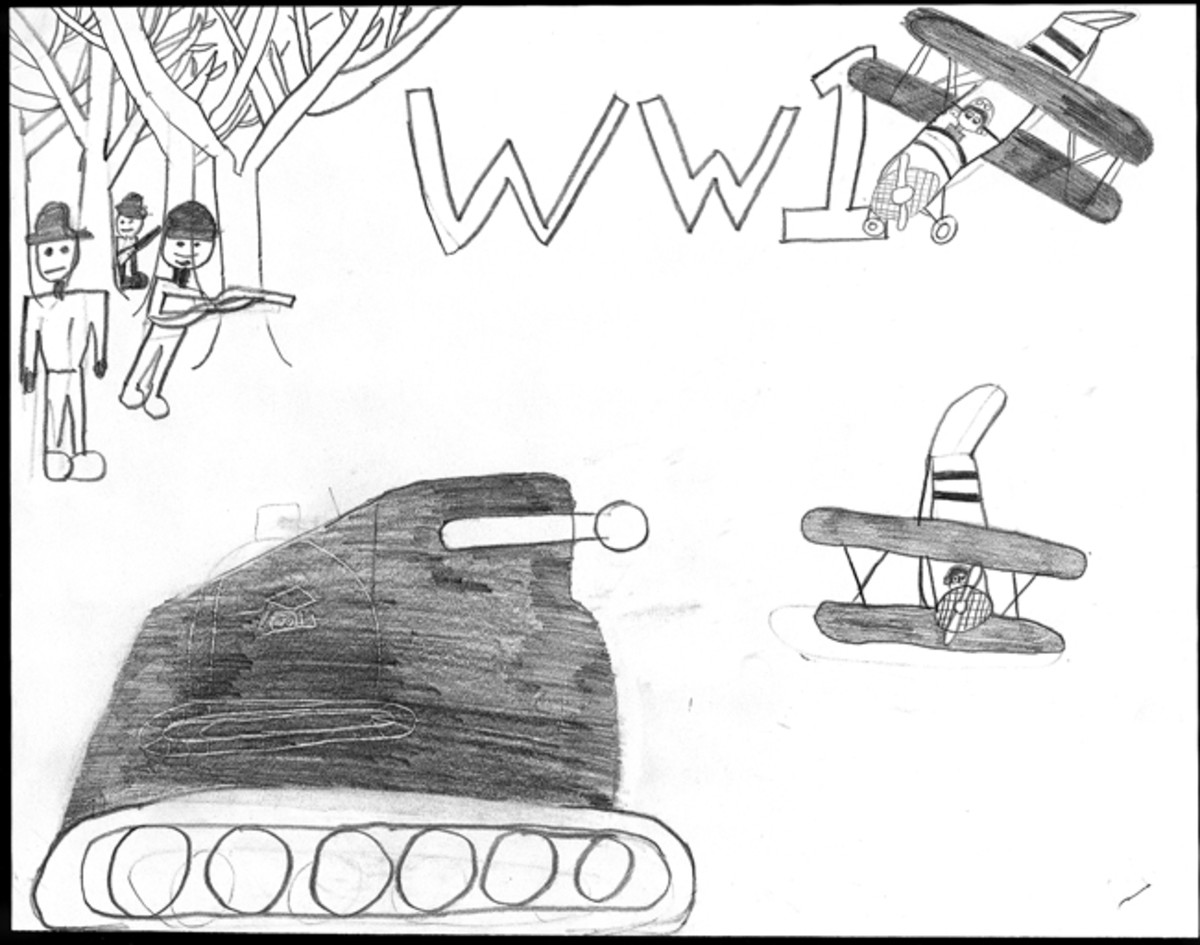 """WWI,"" by Drew Lewallen, 6th Grade"