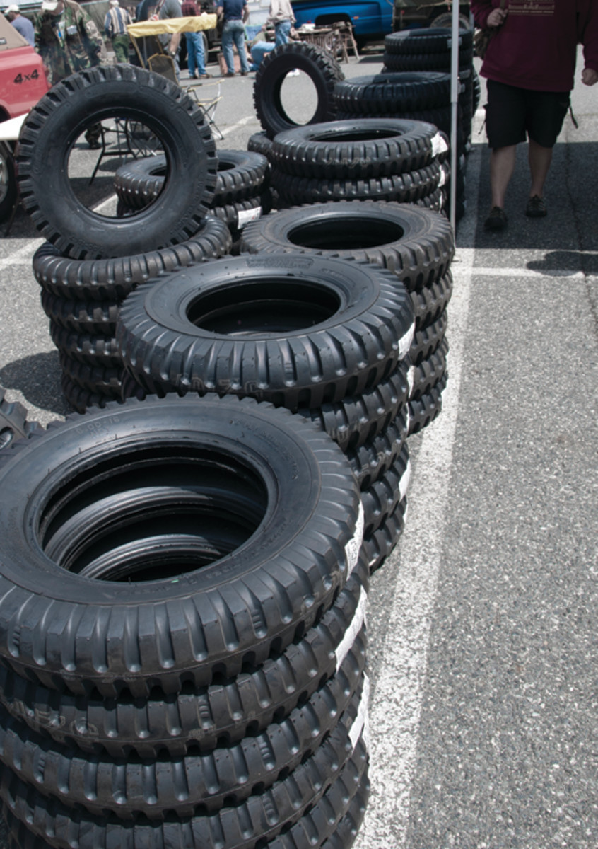 Universal Vintage Tire stocks a huge selection of military truck tires for trucks dating back to WWII. Most military tires are made in the USA.