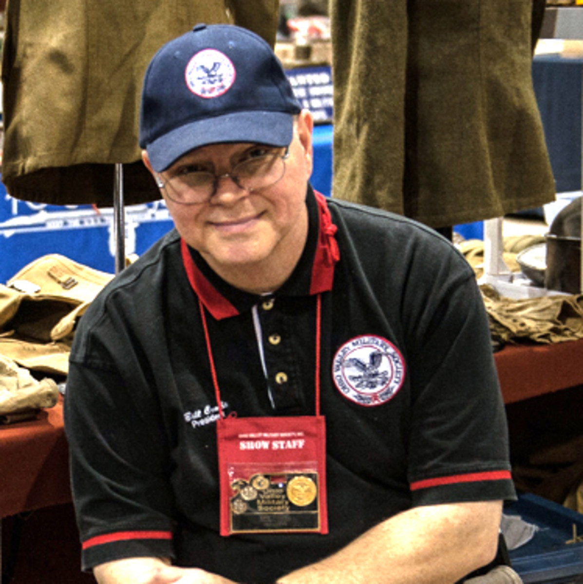 Bill Combs, a collector and dealer for more than 45 years, is President of the Ohio Valley Military Society (OVMS)—the new owners of the MAX Show.