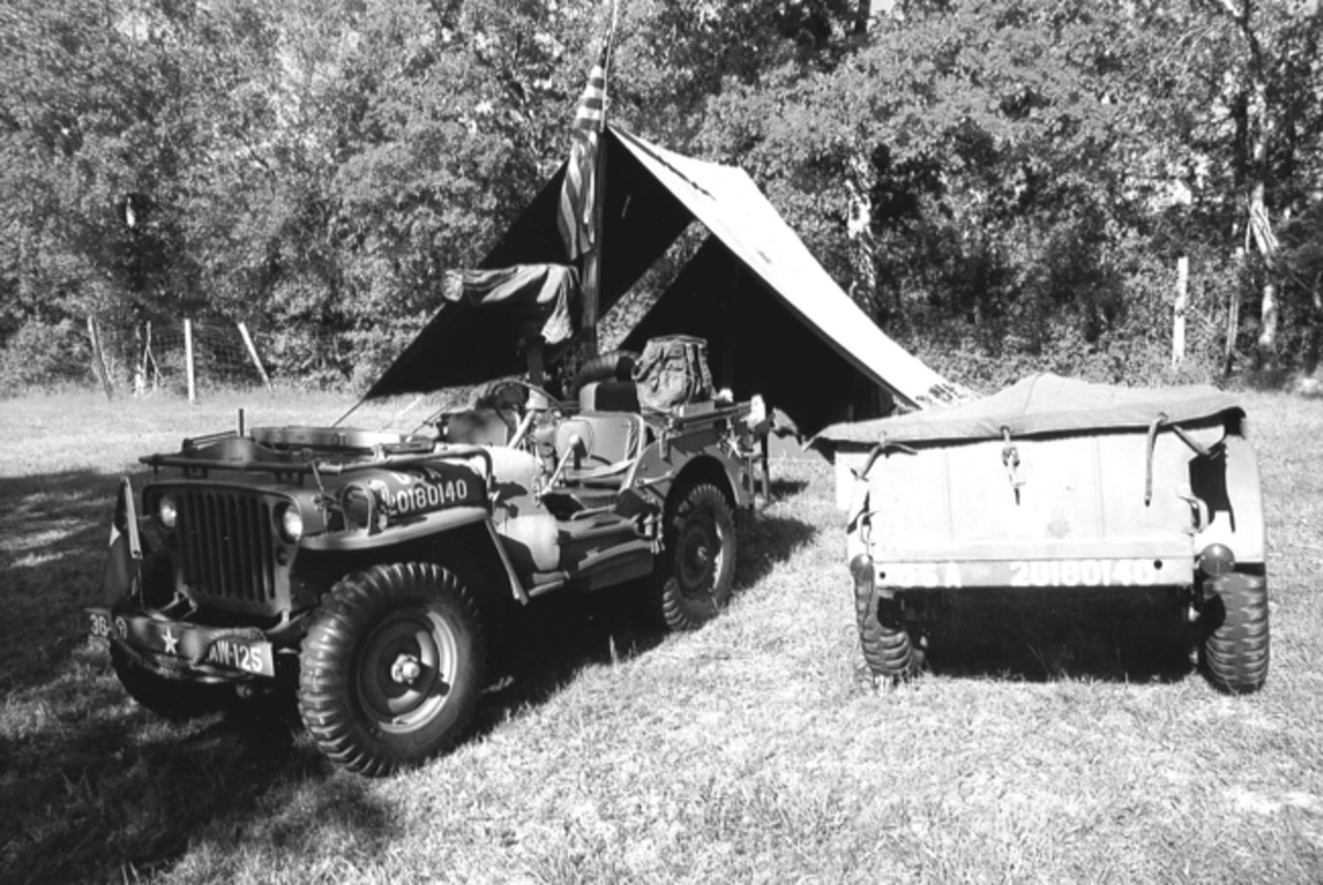 Vehicles of all sorts show up the events, but the WWII Jeep is the most represented, by far!