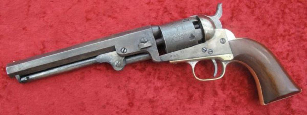 "Fine Colt 1849 6"" Pocket Rev. 1854 mfg. $2,115"