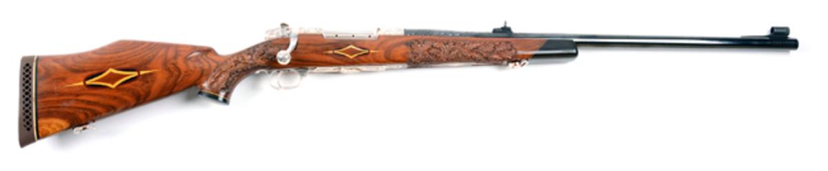 Weatherby Custom Crown Grade Mk V .460 WMAG Safari Rifle