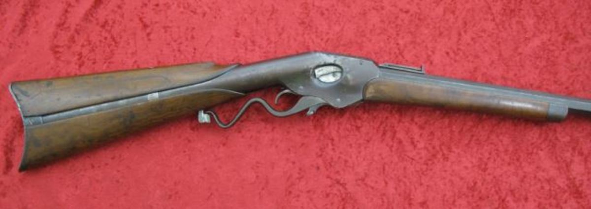 Evans 44 cal lever action Sporting Rifle $1,425